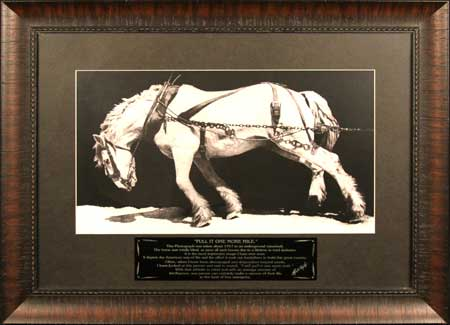 Ross Taylor Horse Print